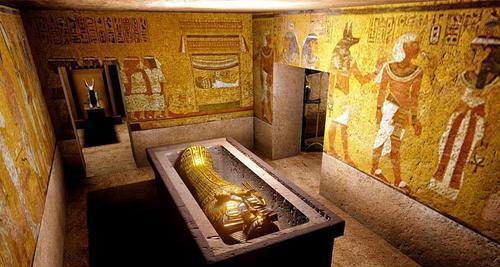 埃及为招揽游客下血本 4500年历史的金字塔墓室即将开放