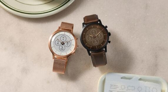 Fossil的新型Hybrid HR智能手表具有始终显示功能 并且电池续航惊人