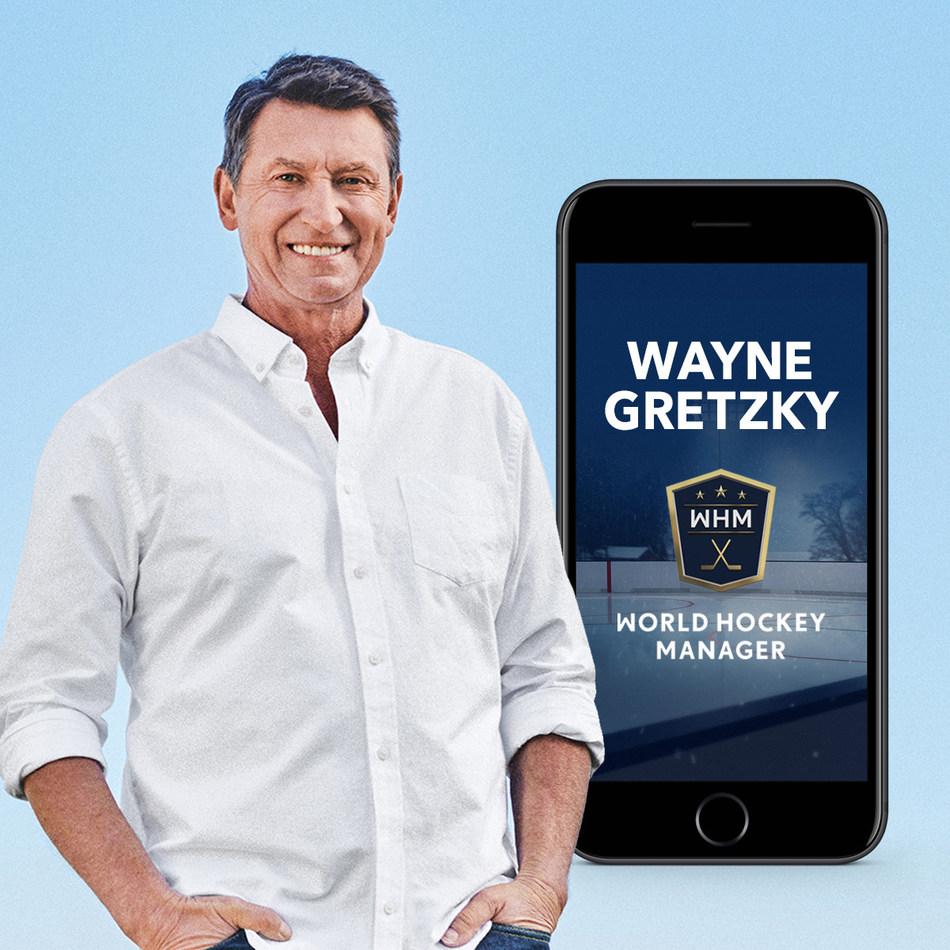 韦恩·格雷茨基成为世界曲棍球经理的大使并入股该公司