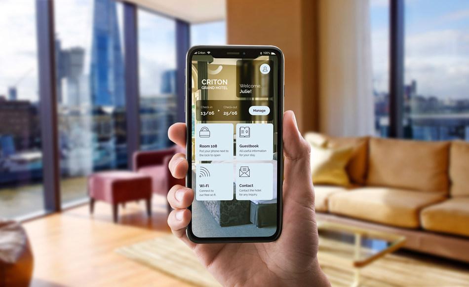 Criton 2.0让酒店为客人提供完全数字化游客旅程的选择