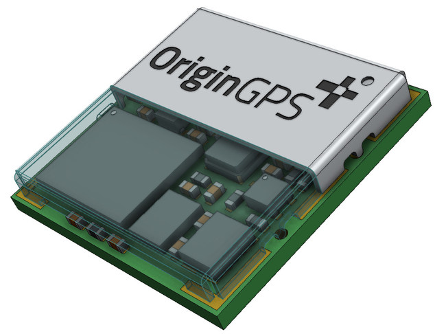 OriginGPS在MWC19洛杉矶推出采用Broadcom L1 + L5芯片的双频GNSS模块