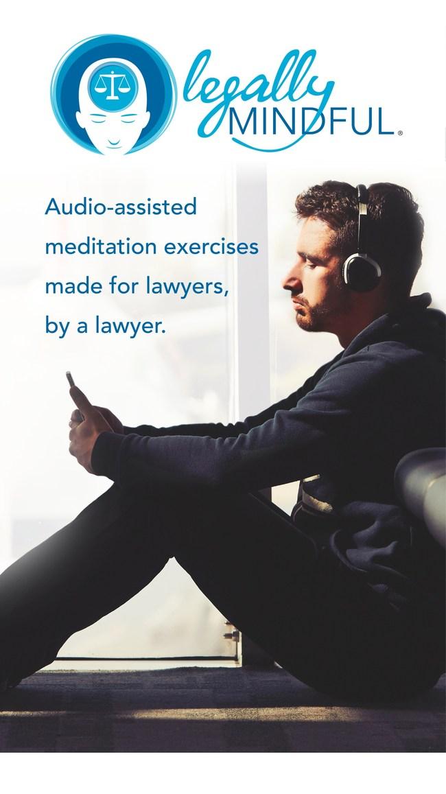 为应对执业法的压力 长达35年的律师创建了针对法律专业的综合冥想应用程序