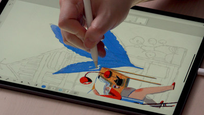 展示全新Adobe Fresco绘画和绘图应用程序的独家课程