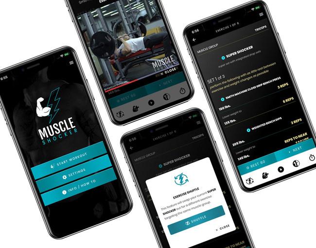 正式推出的Muscle Shocker可能会使更大的肌肉成为tApp了