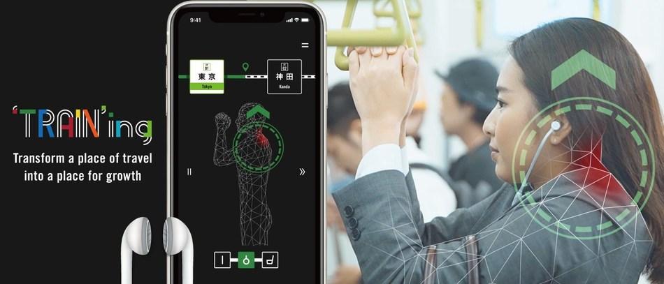 东日本铁路公司和McCann Health开发了一款智能手机应用程序