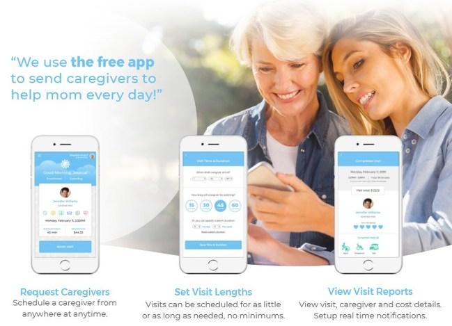 CaringOnDemand向全美家庭推出价格更实惠 更高效的按需家庭护理服务