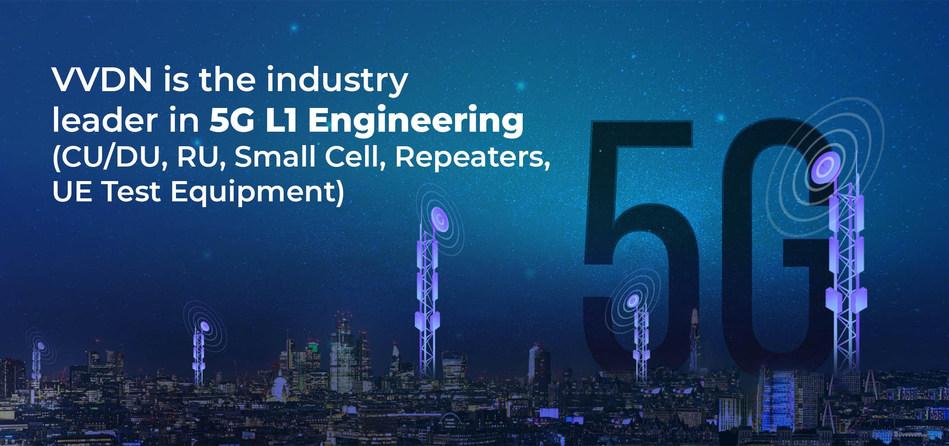 VVDN的5G业务部门扩展了其L1工程能力 以开发5G解决方案
