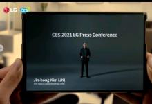 LG首款柔性智能手机LG Rollable将于今年年初上市