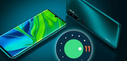 小米Note10和MiNote10Pro更新了安卓11