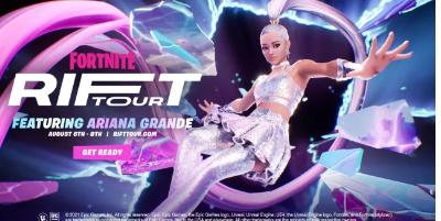 ArianaGrandeFortnite泄密事件通过游戏内音乐会证实