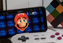 您可以在手机上的网络浏览器中玩超级马里奥64